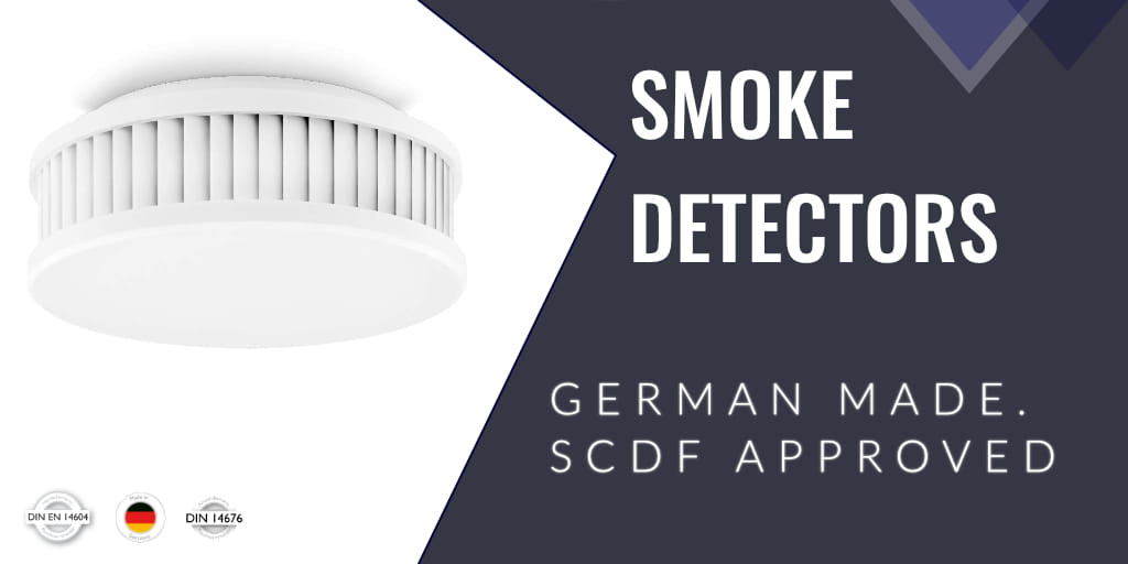 SCDF Approved Smoke Detectors