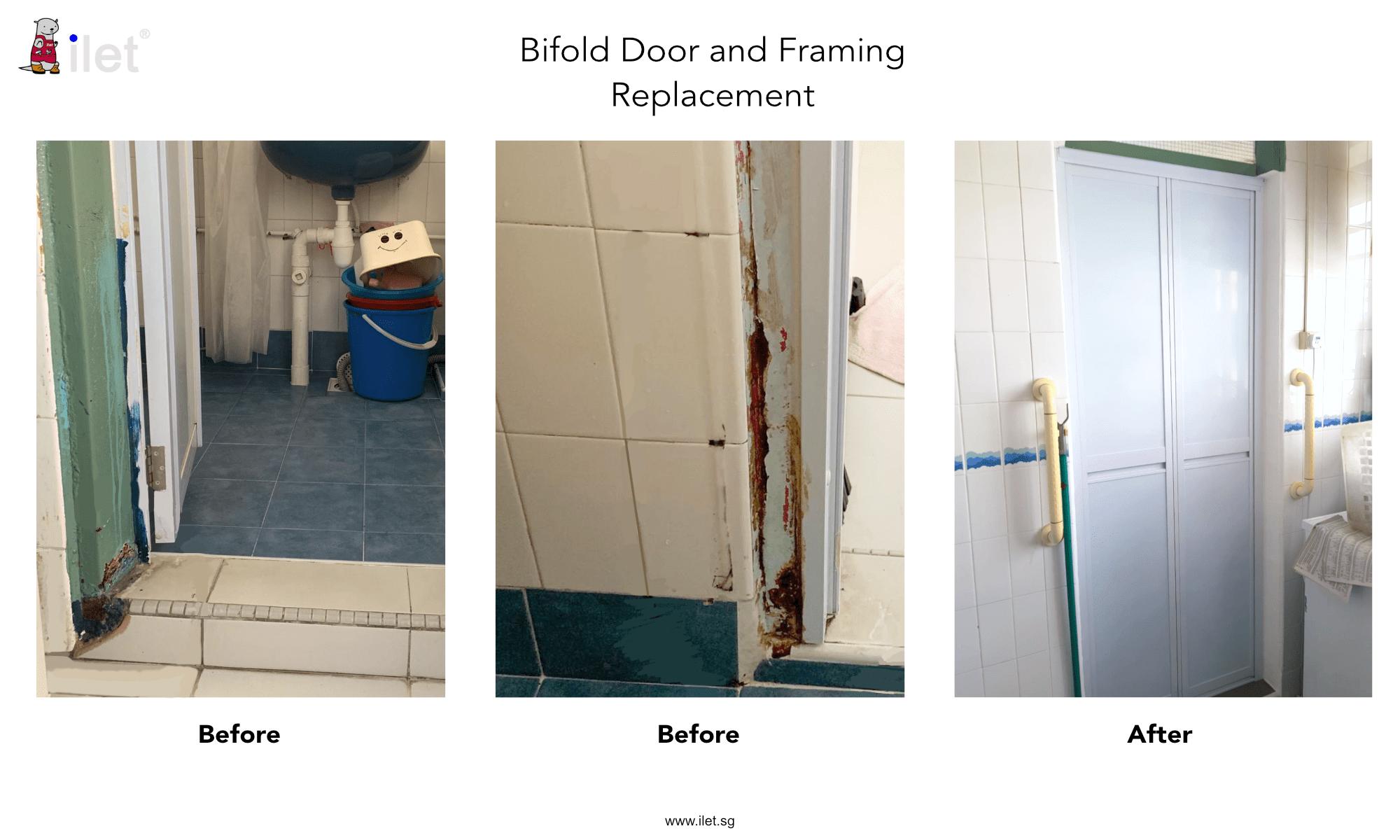 Toilet Door Replacement Bifold Swing Pd Doors